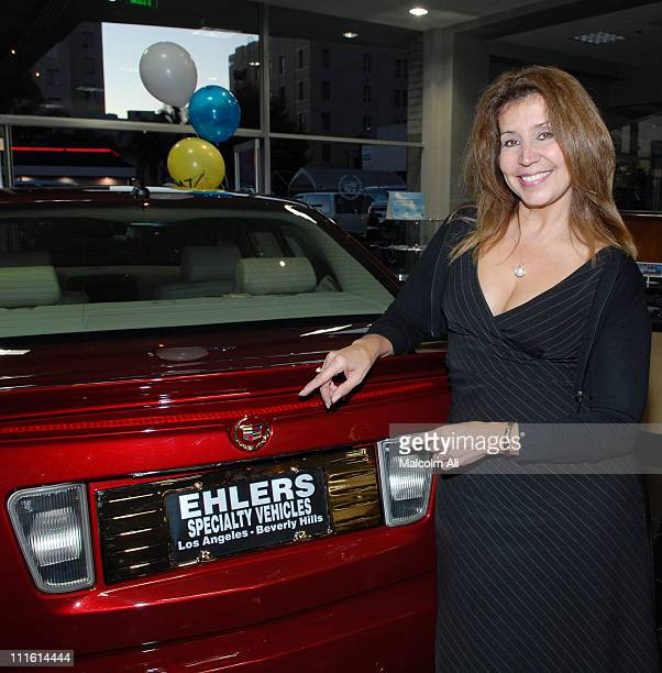 Talaya Trigueros 947 THE WAVE Radio Show Host during 947 The Wave Presents Elhers' Cadillac Grand Remodel Celebration Party October 6 2006 in Los...