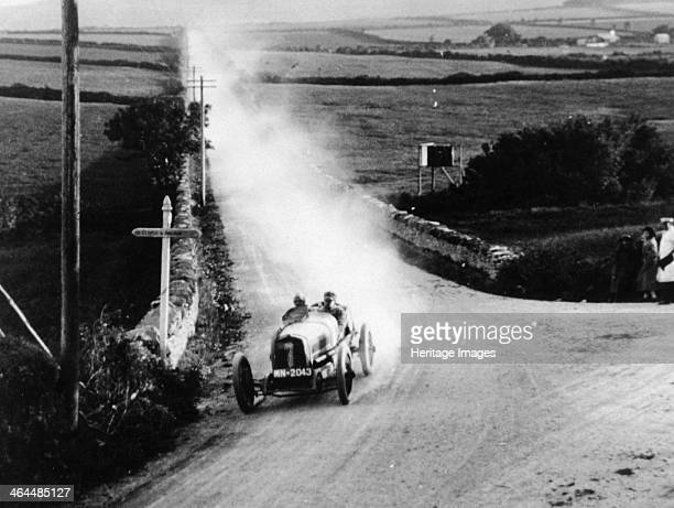 Talbot Darracq in action Isle of Man TT race 1922