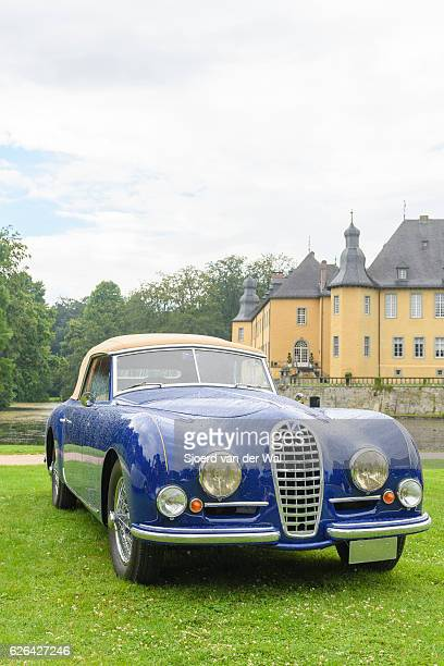 """talbot lago t26 record drophead 1947 classic convertible car - """"sjoerd van der wal"""" ストックフォトと画像"""