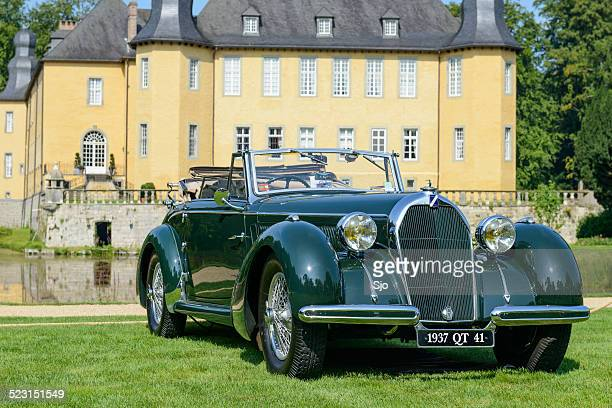 "talbot lago t150 c cabriolet - ""sjoerd van der wal"" or ""sjo"" stock pictures, royalty-free photos & images"