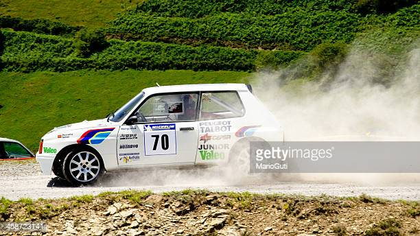 talbot samba rally car - rally car stock photos and pictures