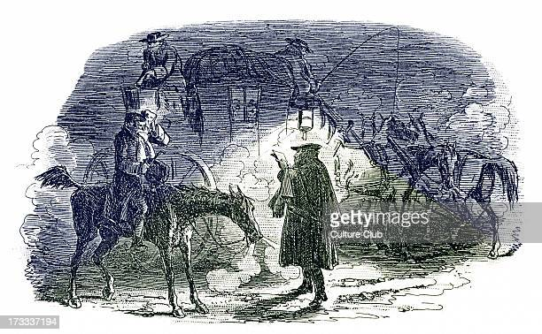 A Tale of Two Cities by Charles Dickens published in 1859 Illustration by George Cruikshank English caricaturist and book illustrator 17921878...