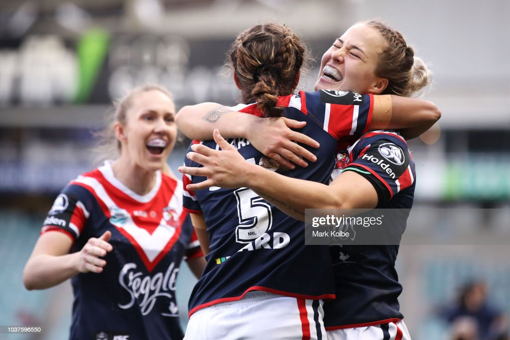 NRLW Rd 3 - Roosters v Dragons : News Photo