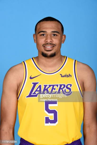 Talen HortonTucker of the Los Angeles Lakers poses for a head shot during media day on September 27 2019 at the UCLA Health Training Center in El...