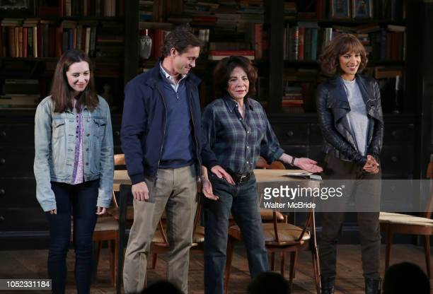 Talene Monahon Hugh Dancy Stockard Channing and Megalyn Echikunwoke during the Opening Night Curtain Call Bows for the Roundabout Theatre Company...