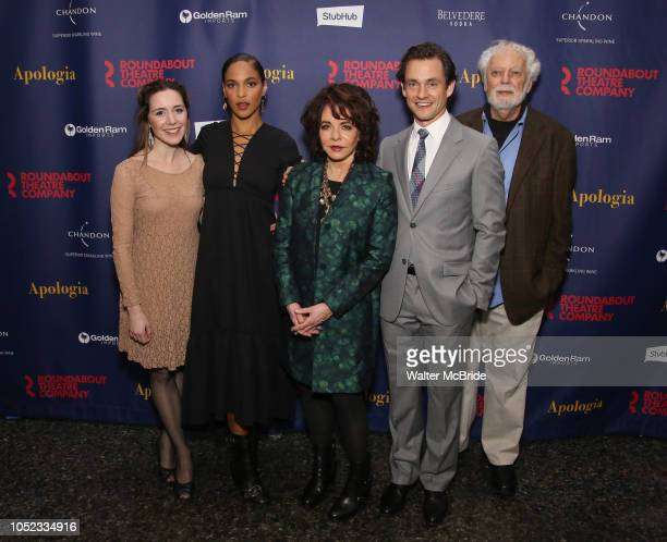 Talene Monahon Megalyn Echikunwoke Stockard Channing Hugh Dancy and John Tillinger attend the Broadway Opening Night Celebration for the Roundabout...