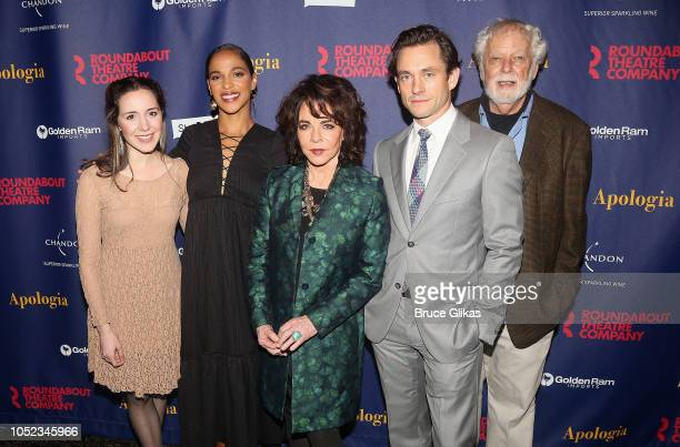 Talene Monahon Megalyn Echikunwoke Stockard Channing Hugh Dancy and John Tillinger pose at the opening night after party for the Roundabout Theater...