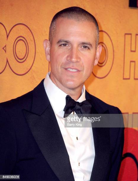 Talent agent Jim Toth attends HBO's Post Emmy Awards Reception at The Plaza at the Pacific Design Center on September 17 2017 in Los Angeles...