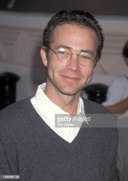 Talent agent Richard Lovett attends the Jumanji Culver City Premiere on December 10 1995 at Sony Pictures Studios in Culver City California