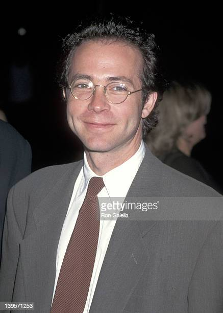 Talent agent Richard Lovett attends The Pallbearer Los Angeles Premiere on April 25 1996 at DGA Theatre in Los Angeles California