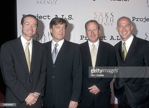 Talent agent Richard Lovett talent agent Kevin Huvane talent agent David O'Connor and talent agent Bryan Lourd attend the Second Annual Los Angeles...