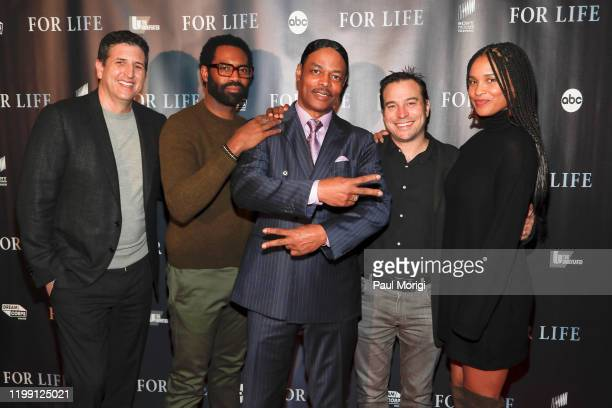FOR LIFE Talent and executive producers from ABC's new drama For Life attended a screening event and panel discussion in collaboration with ESPN's...