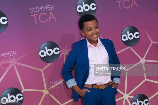 TCA 2019 Talent arrives to Soho House in Beverly Hills for the ABC AllStar Party and Interview Opportunity DEVIN