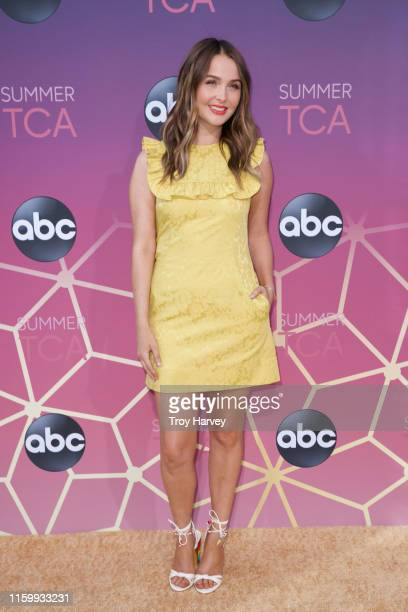 Talent arrives to Soho House in Beverly Hills for the ABC All-Star Party and Interview Opportunity. CAMILLA LUDDINGTON