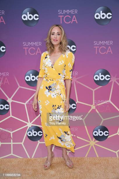 TCA 2019 Talent arrives to Soho House in Beverly Hills for the ABC AllStar Party and Interview Opportunity KIM