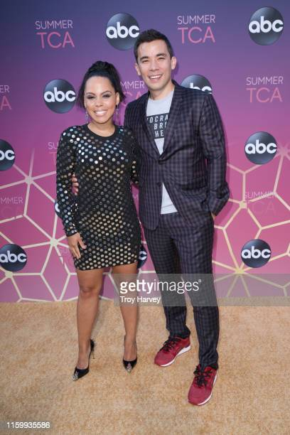 TCA 2019 Talent arrives to Soho House in Beverly Hills for the ABC AllStar Party and Interview Opportunity AMIRAH