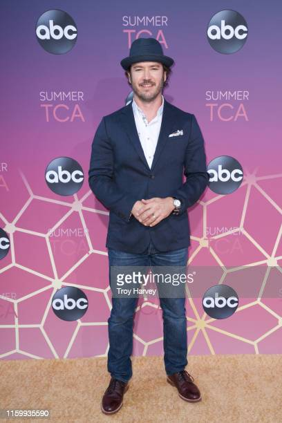 TCA 2019 Talent arrives to Soho House in Beverly Hills for the ABC AllStar Party and Interview Opportunity MARK