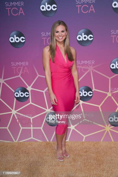 TCA 2019 Talent arrives to Soho House in Beverly Hills for the ABC AllStar Party and Interview Opportunity HANNAH