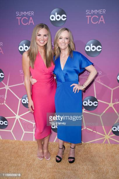 TCA 2019 Talent arrives to Soho House in Beverly Hills for the ABC AllStar Party and Interview Opportunity HANNAH BROWN KAREY BURKE