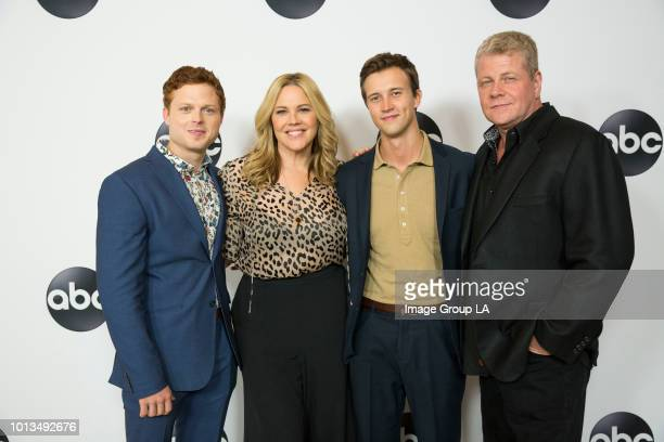 TOUR 2018 Talent executives and showrunners from ABC arrived to The Beverly Hilton in Beverly Hills for the Disney | ABC Television AllStar Cocktail...