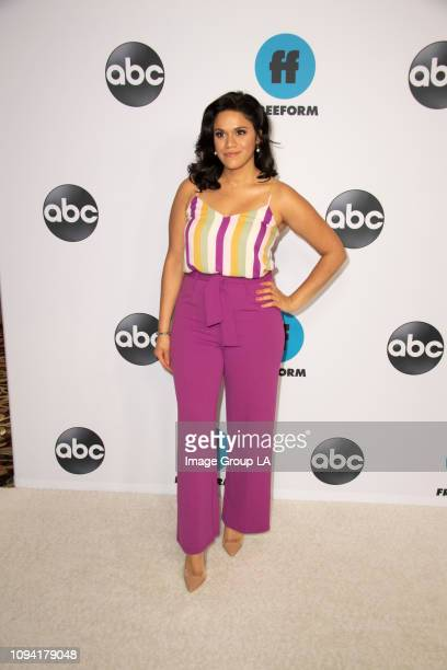 TOUR Talent executives and showrunners from ABC and Freeform series arrived at the 2019 TCA Winter Press Tour carpet at The Langham Huntington in...