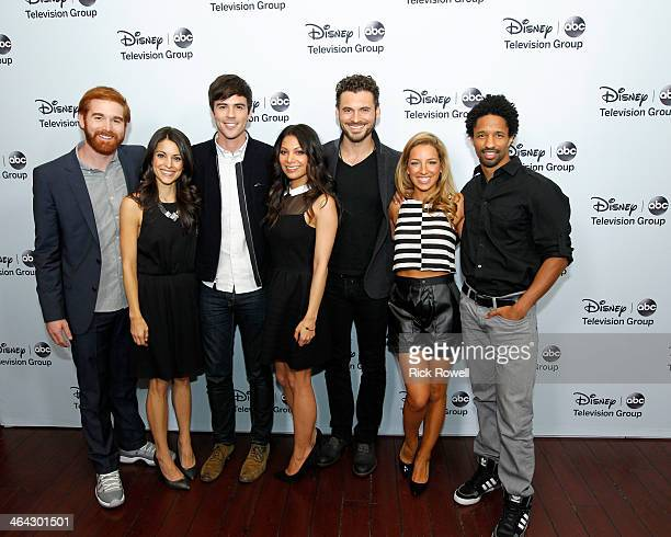 TOUR 2014 Talent executives and showrunners from Walt Disney Television via Getty Images arrived at the Viennese Ballroom of The Langham Huntington...