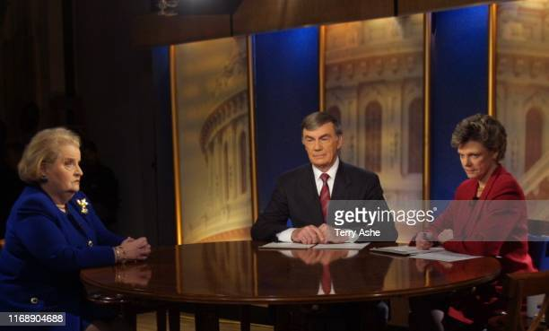 Talent: MADELEINE ALBRIGHT, SAM DONALDSON, COKIE ROBERTS photographer: TERRY ASHE credit: ©2002 AMERICAN BROADCASTING COMPANIES, INC. Source: ABC...