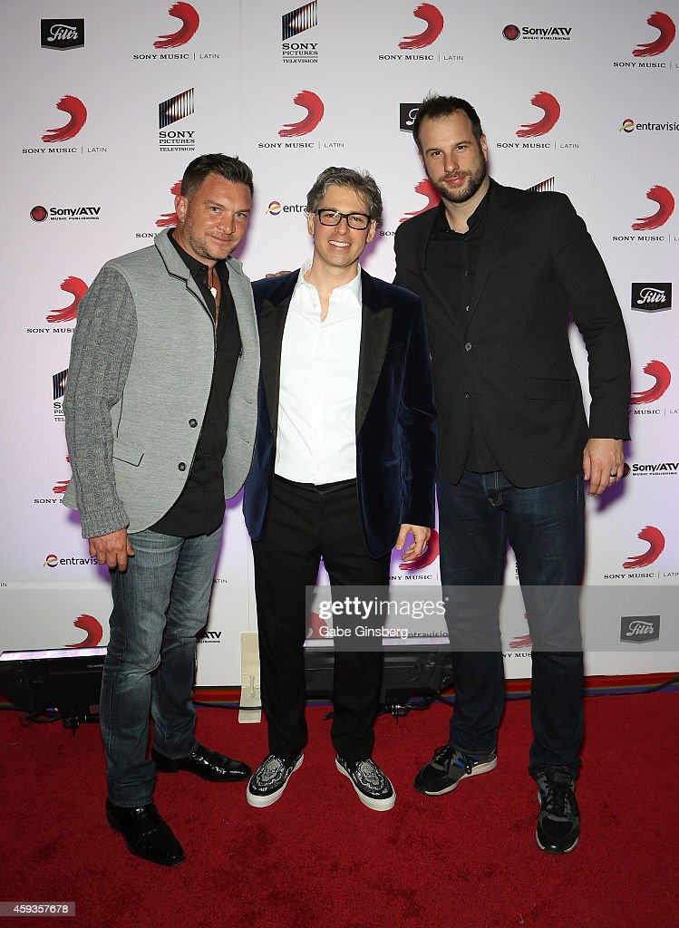 Talent manager Armando Lozano, President of Sony Music U S