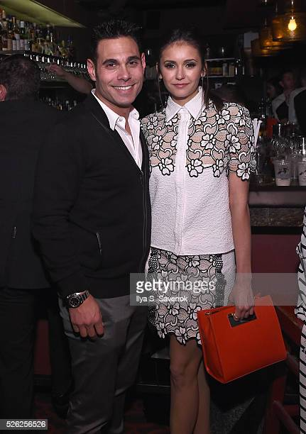 Talent manager Eric Podwall and Nina Dobrev attend Eric Podwall's Exclusive Cocktail Experience The Evening Before White House Correspondents' Dinner...