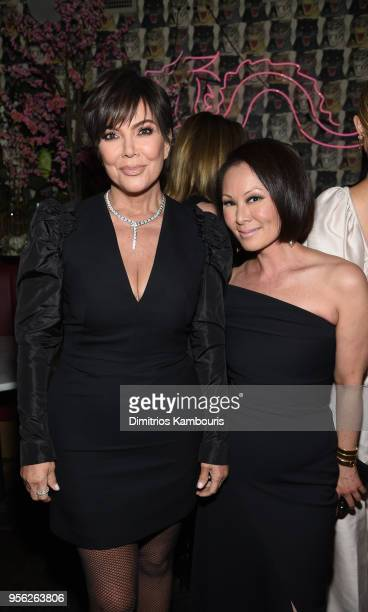 Talent Manager Jenner Communications Kris Jenner and Journalist EditorAtLarge at Ballantine Bantam Dell Alina Cho attends an intimate dinner hosted...
