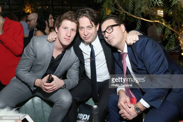 Talent manager Myles Shear and President of Republic Records Group Charlie Walk at a celebration of music with Republic Records in partnership with...