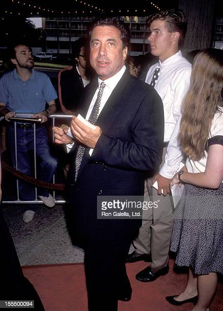 Talent manager Sandy Gallin attends the Sleepless in Seattle Century City Premiere on June 23 1993 at Cineplex Odeon Century Plaza Cinemas in Century...