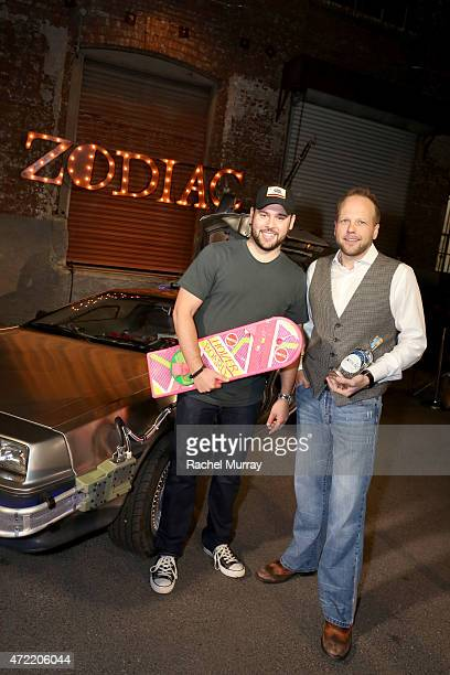 Talent manager Scooter Braun and CEO of Zodiac Vodka Dan Liguori host an exclusive launch party introducing Zodiac Vodka to the California market...