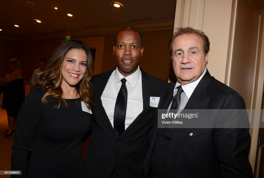 Talent managers Cheryl Martin-Allen, Troy Allen and Larry Thompson attend the 12th Annual Heller Awards at The Beverly Hilton Hotel on September 19, 2013 in Beverly Hills, California.