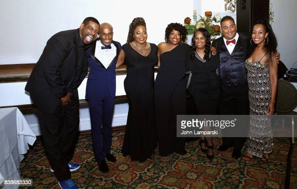 Talent Ruperto Vanderpool Coco Brown Adele Givens Tina Graham Robert Rodriguez and Marsha Taylor attend during the 2017 LOL Comedy Honors Awards Show...