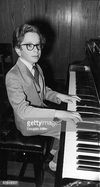 Talented young pianist Terence Judd at the Royal Festival Hall 11th December 1967