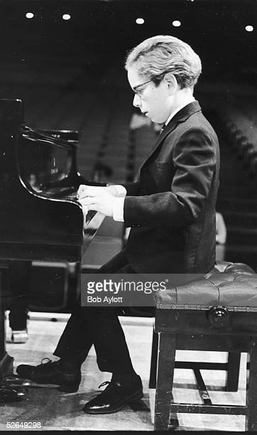 Talented young pianist Terence Judd at the Royal Festival Hall 18th April 1969