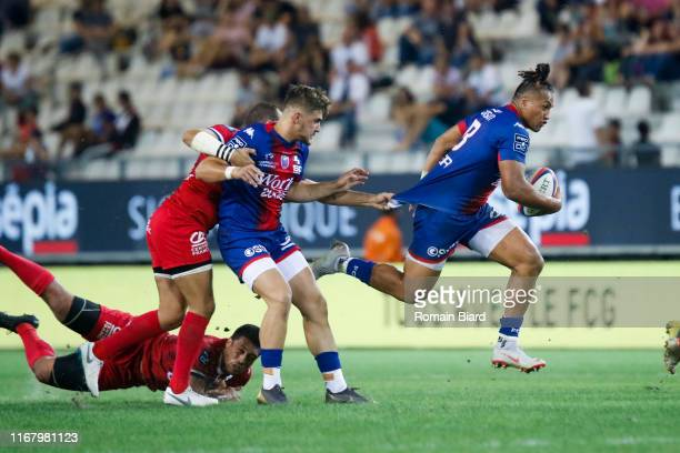 Taleta TUPUOLA of Grenoble during the Pro D2 match between Grenoble and Aurillac on September 13, 2019 in Grenoble, France.