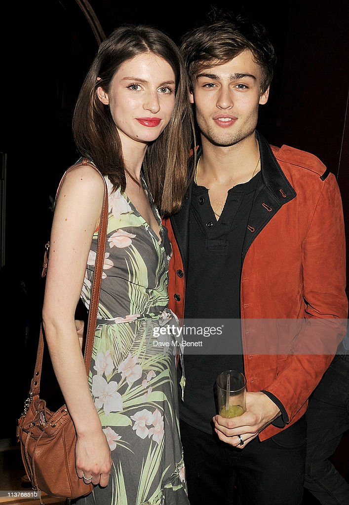 Tali Lennox (L) and Douglas Booth attend the launch of Esquire Magazine's June issue hosted by the magazine's new editor Alex Bilmes and singer Lily Allen on May 5, 2011 in London, England.