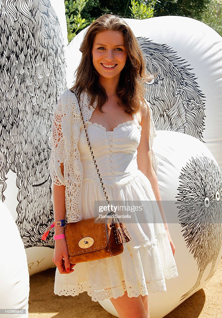 Mulberry BBQ Pool Party At Coachella : News Photo