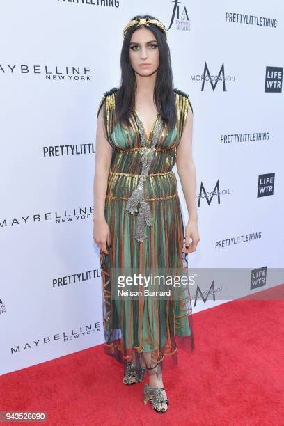 Tali Lennox attends The Daily Front Row's 4th Annual Fashion Los Angeles Awards at Beverly Hills Hotel on April 8 2018 in Beverly Hills California