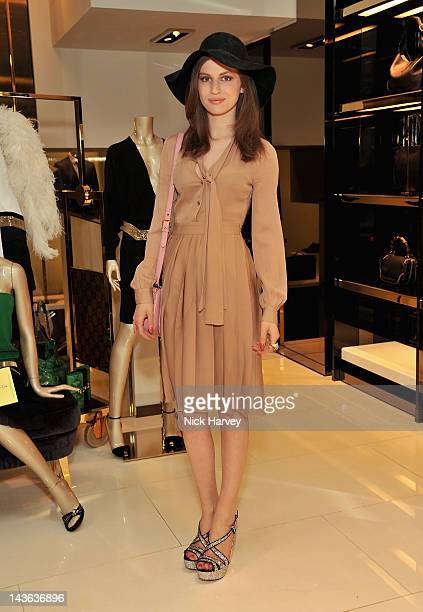 Tali Lennox attends the Gucci Hosts 'Very Classy' by Derek Blasberg at the Gucci Store on May 1 2012 in London England