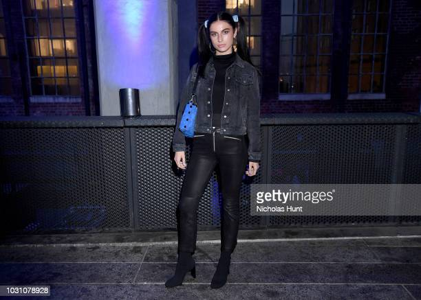 Tali Lennox attends the screening of the rag bone film Time Of Day at The High Line on September 10 2018 in New York City