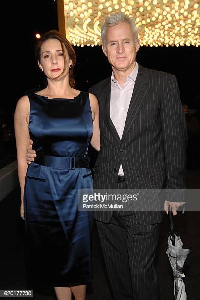 Talia Balsam and John Slattery attend HUGO BOSS Prize 2008 at Guggenheim Museum on November 13 2008 in New York City