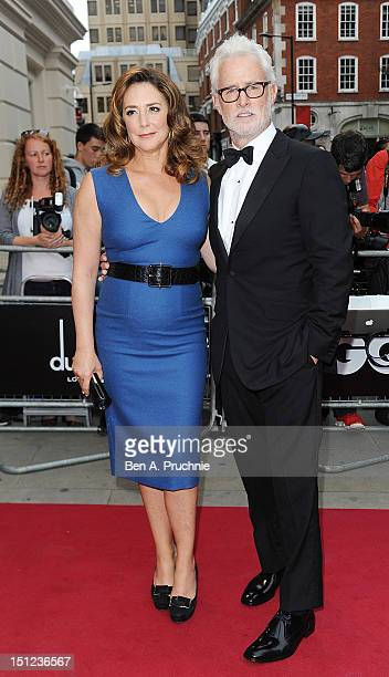 Talia Balsam and John Slattery attend the GQ Men of the Year Awards 2012 at The Royal Opera House on September 4 2012 in London England