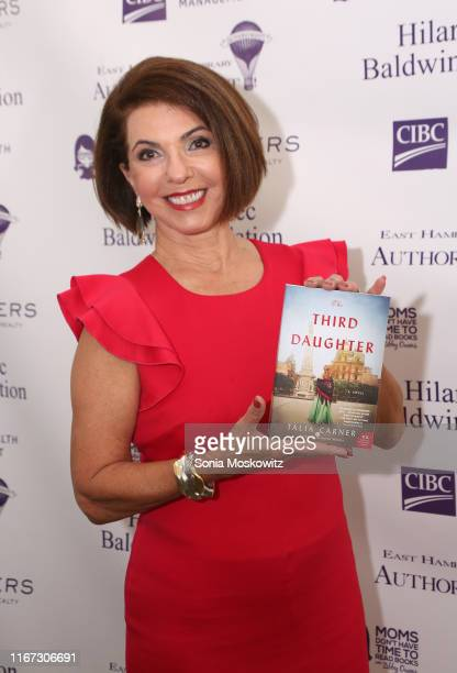 Talia Carner at the East Hampton Library's 15th Annual Authors Night Benefit on August 10 2019 in Amagansett New York