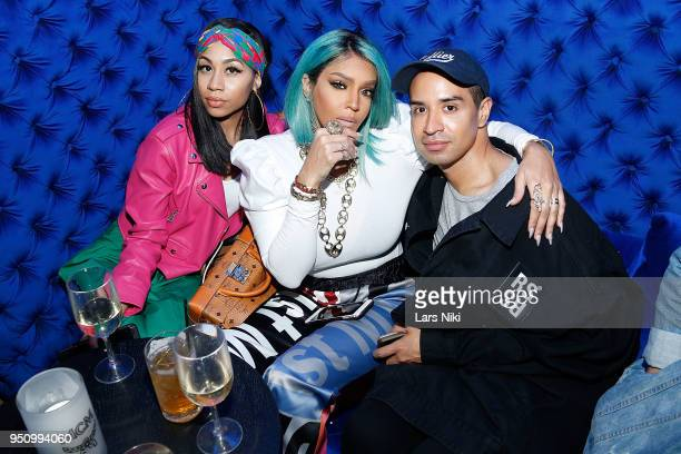 Talia Coles attends the 2018 Tribeca Studios and MCM Sneak Preview Of Women's Hip Hop At Public Hotel on April 24 2018 in New York City