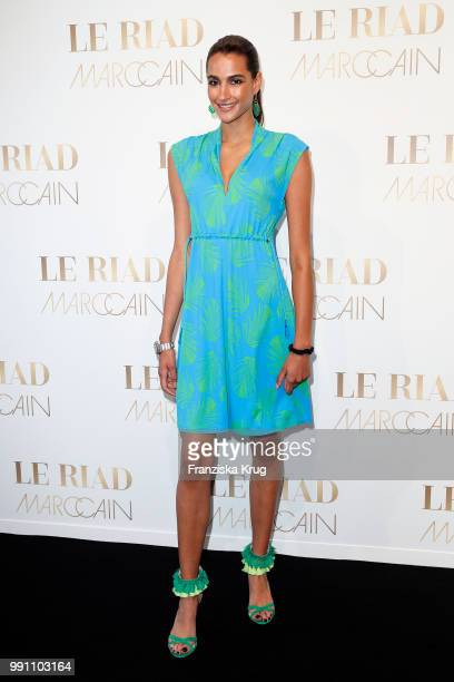 Talia Graf attends the Marc Cain Fashion Show Spring/Summer 2019 at WECC on July 3 2018 in Berlin Germany