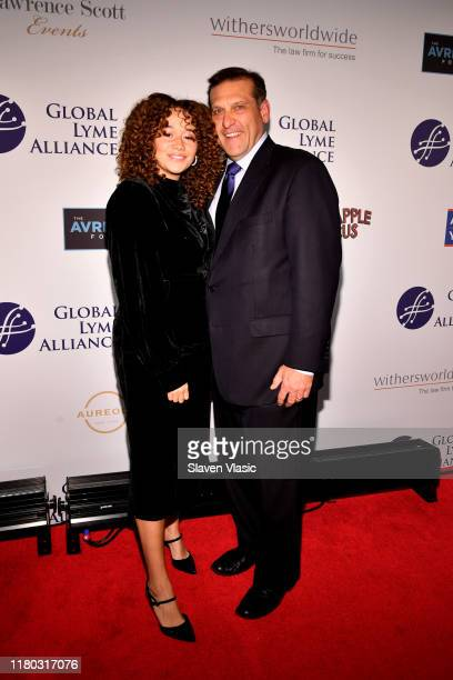Talia Jackson and Scott Santarella attend the Global Lyme Alliance fifth annual New York City Gala on October 10 2019 in New York City