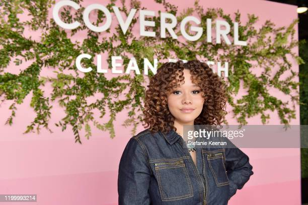 Talia Jackson attends Covergirl Clean Fresh Launch Party on January 16 2020 in Los Angeles California